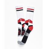 Es Es - ASI Tech Sock White/Red