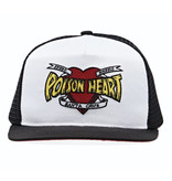 Santa Cruz Santa Cruz - Poison Heart Mesh Trucker Mid Profile Hat