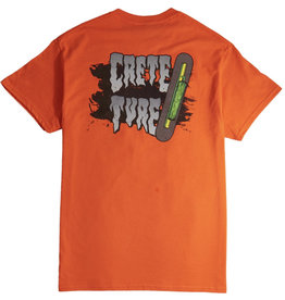 Creature Creature - Crete Ture S/S Regular T-Shirt Orange
