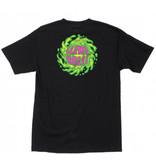 Slime Balls Slime Balls - SB Logo S/S Regular T-Shirt Black Swirl