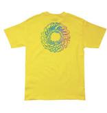 Slime Balls Slime Balls - Spun Out S/S Regular T-Shirt Yellow