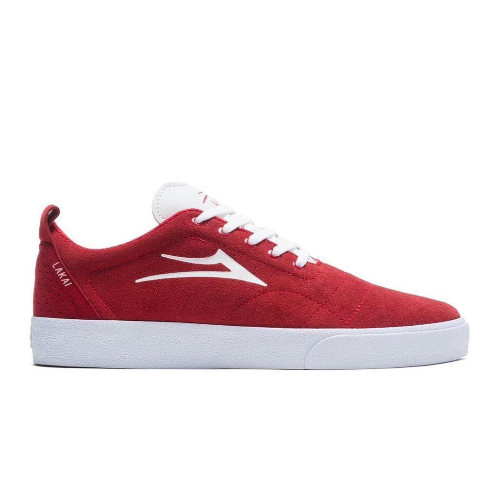 Lakai Lakai - Bristol Red/White Suede