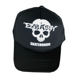 Embassy Embassy - Skull Trucker Black/White