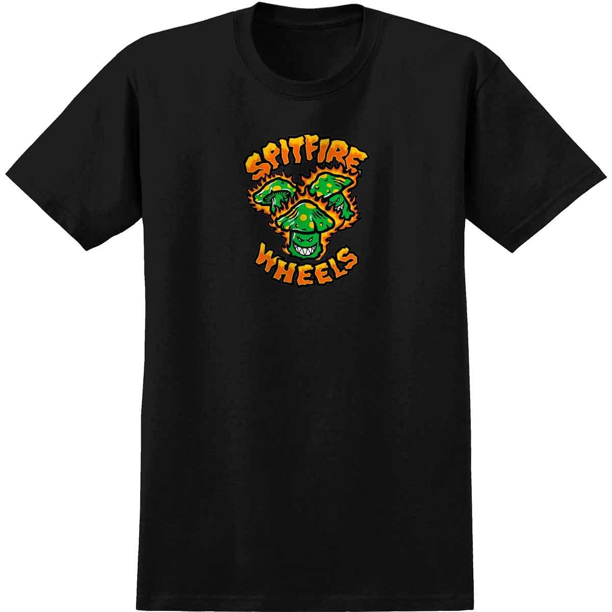 Spitfire Spitfire - S/S Toxic Shrooms Black