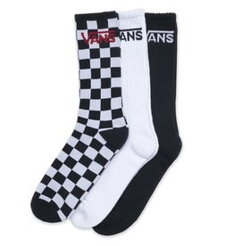 Vans Vans - Classic Crew 3 Pack Checker Black White