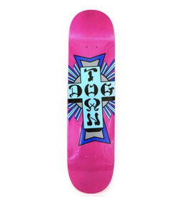 Dogtown Dogtown - 8.0 Street Cross Logo Assorted Stains