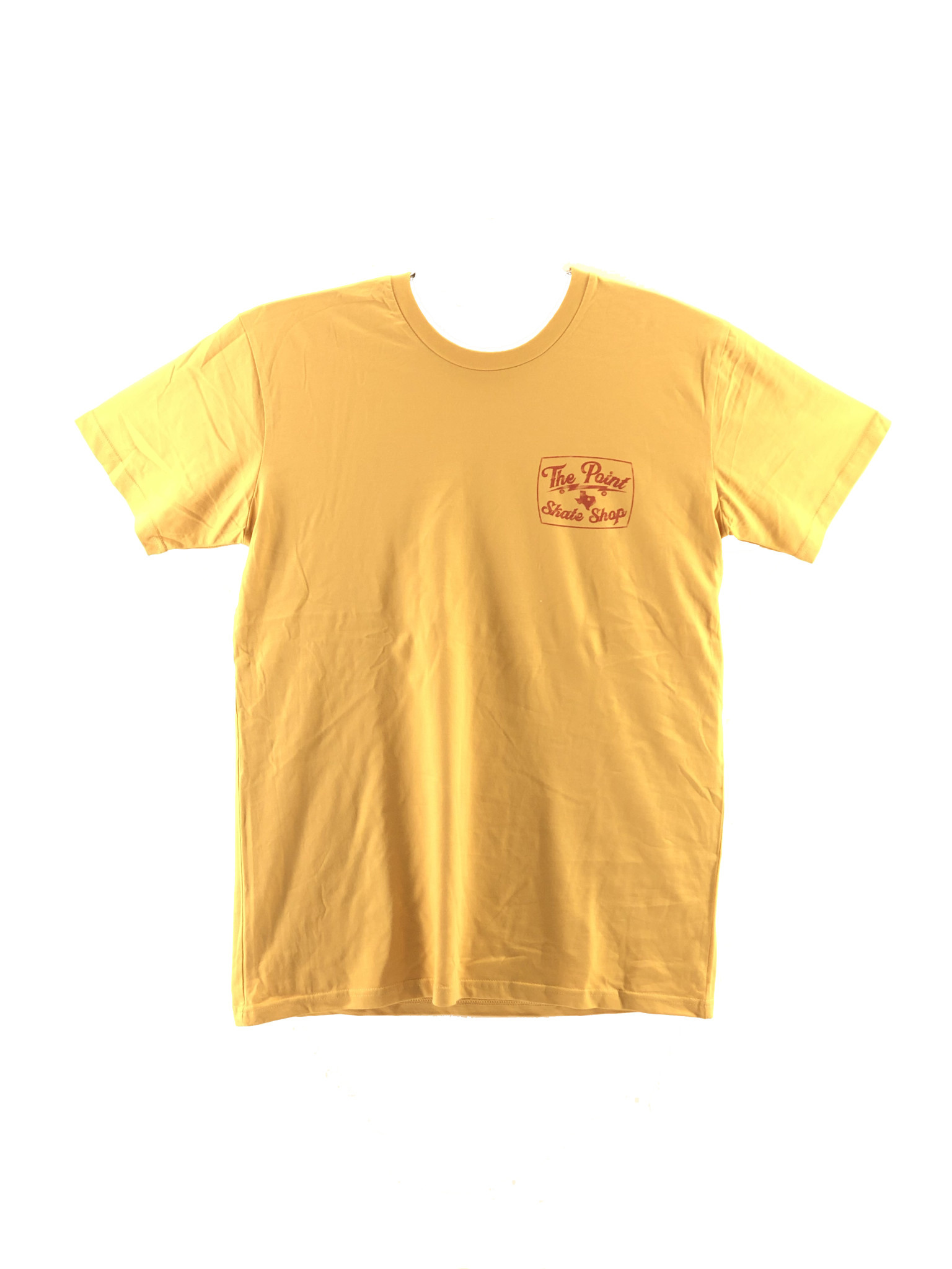 The Point The Point - Point Texas Distressed Mustard