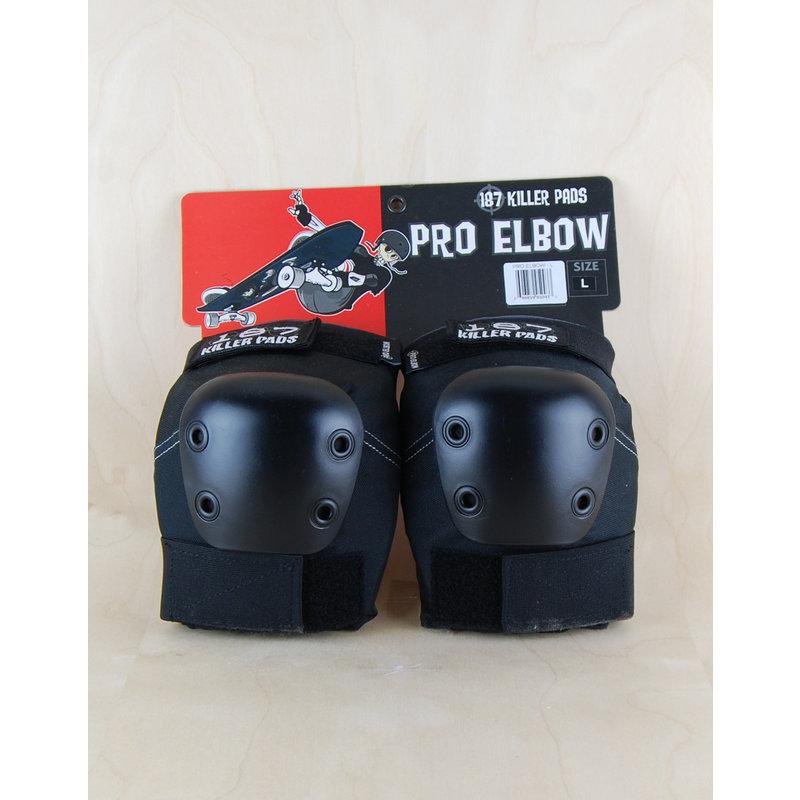 187 187 - Pro Elbow Black