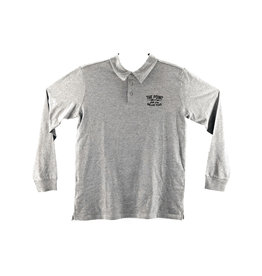 The Point The Point - Deco Polo L/S Grey
