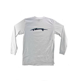 The Point The Point - 3D Bolt L/S White
