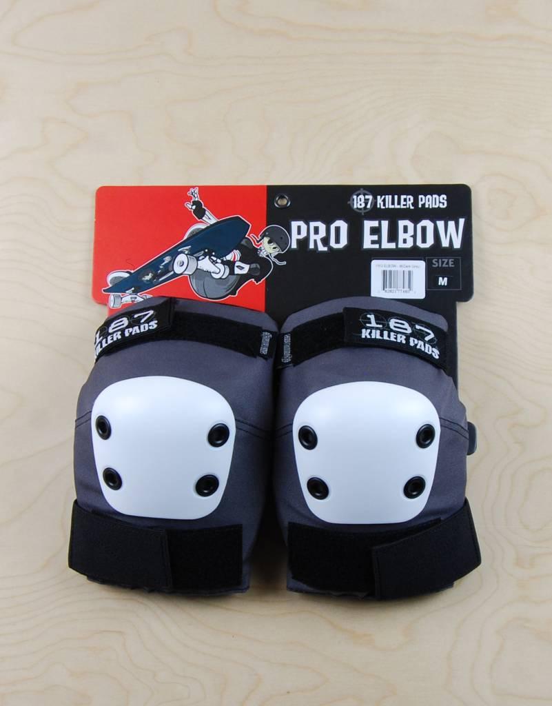 187 187 - Pro Elbow Dark Grey