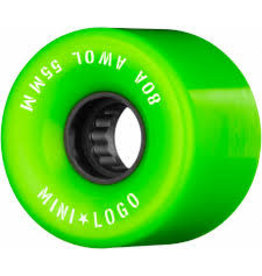 Mini Logo Mini Logo - A.W.O.L Green 55 80a