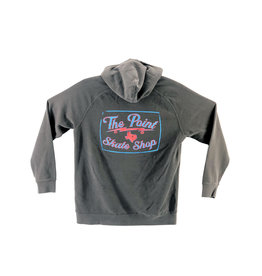 The Point The Point - Classic Faded Black Hoodie