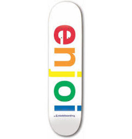 Enjoi Enjoi - 9.0 Specturm R7 White