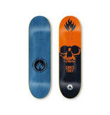 Black Label Black Label - 8.5 Troy Skull Orange