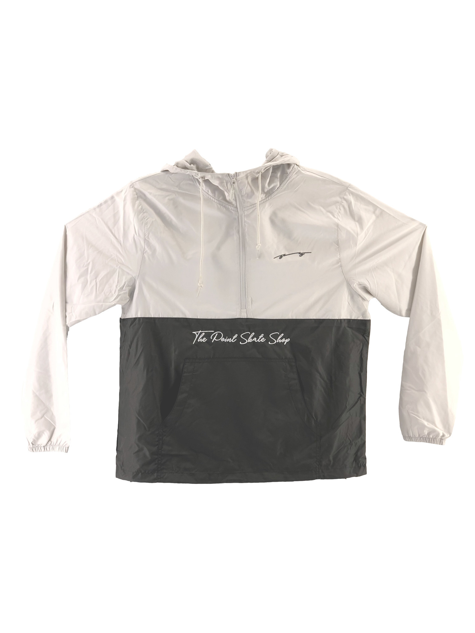 The Point The Point - Script Anorak Silver/Grey