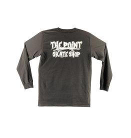 The Point The Point - Shrunken Head L/S Coal