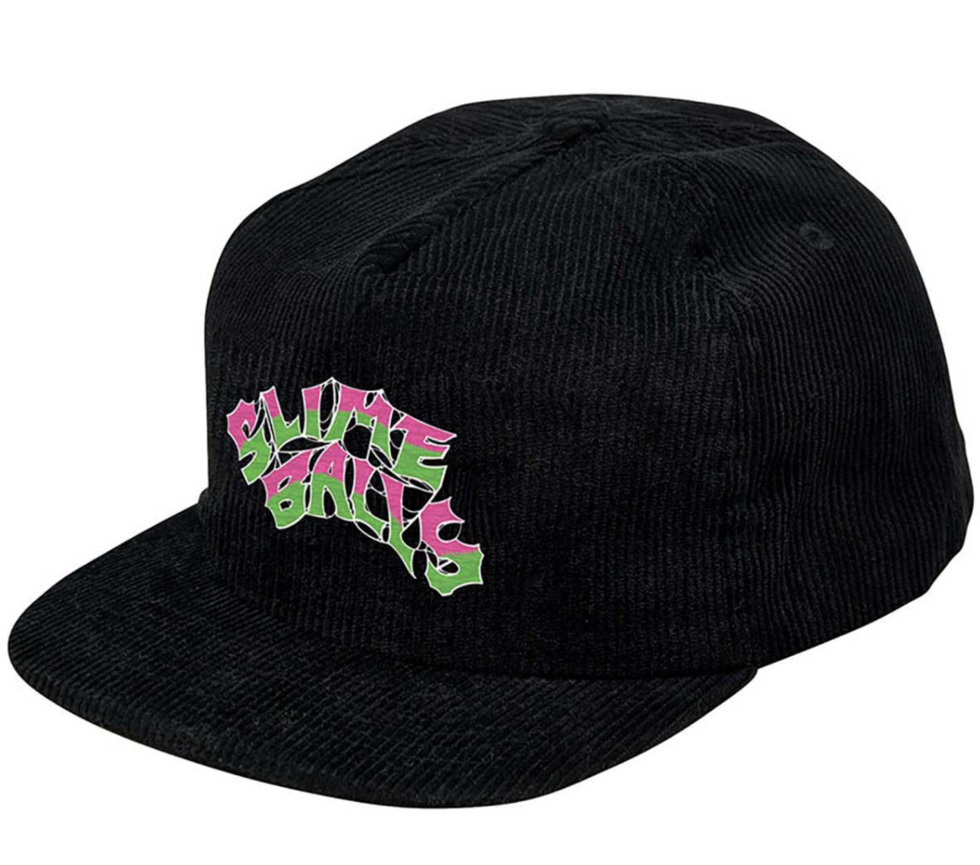Slime Balls Slime Ball - Slime Web Snapback Black