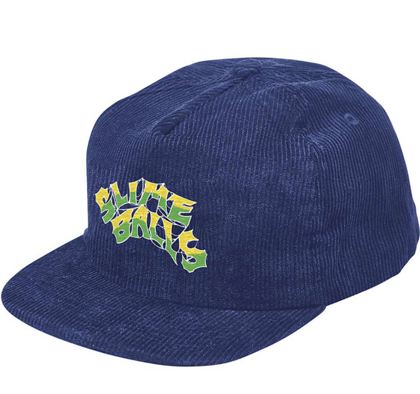 Slime Balls Slime Ball - Slime Web Snapback Blue