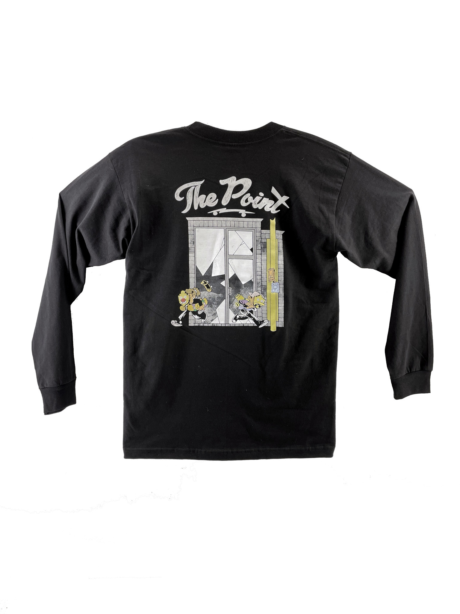 The Point The Point - Break In L/S Black