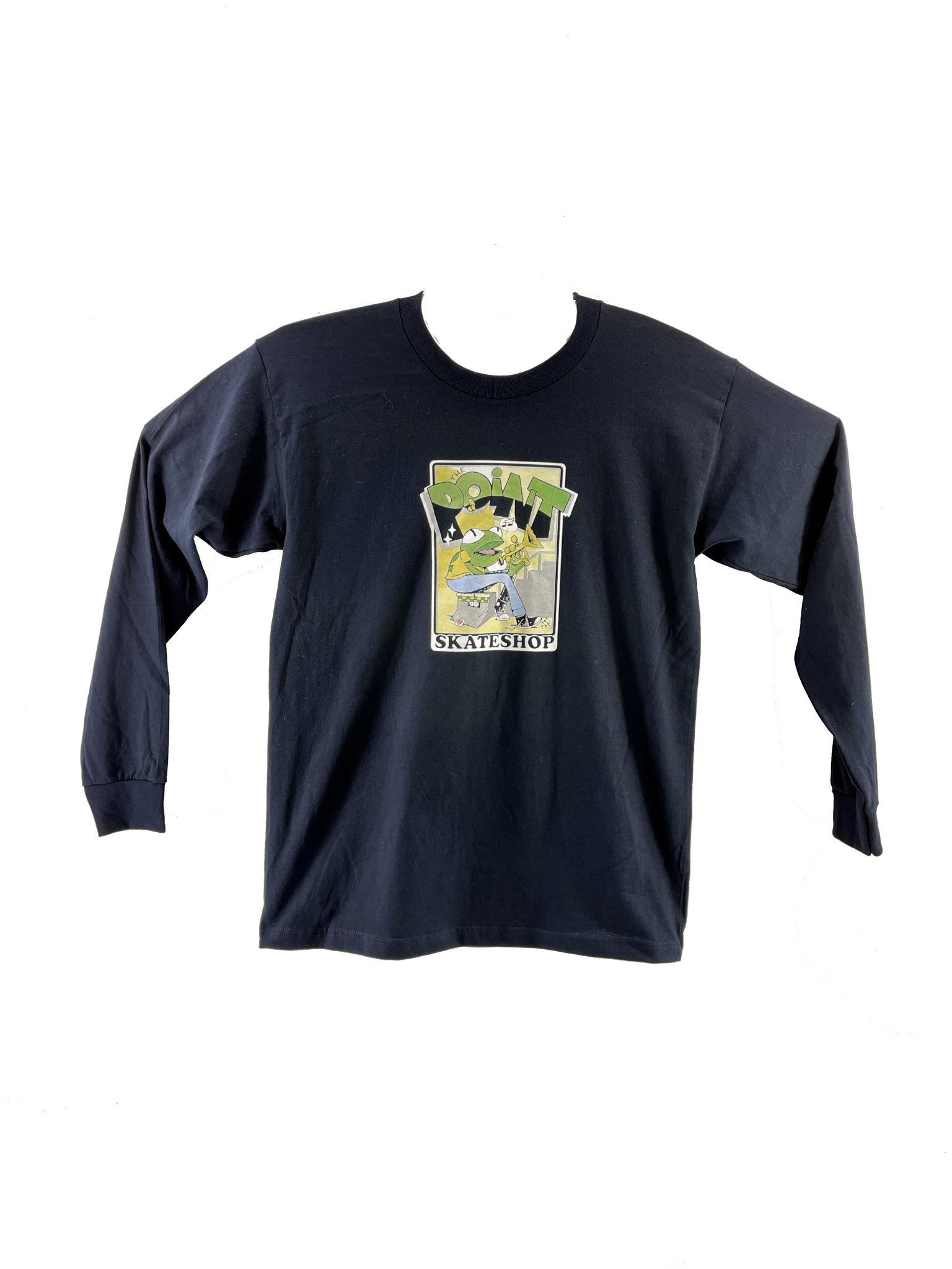The Point The Point - Frog Ramp L/S Navy