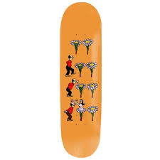 Pass - Port Skateboards Pass Port - 8.125  What U Thought - Flowers