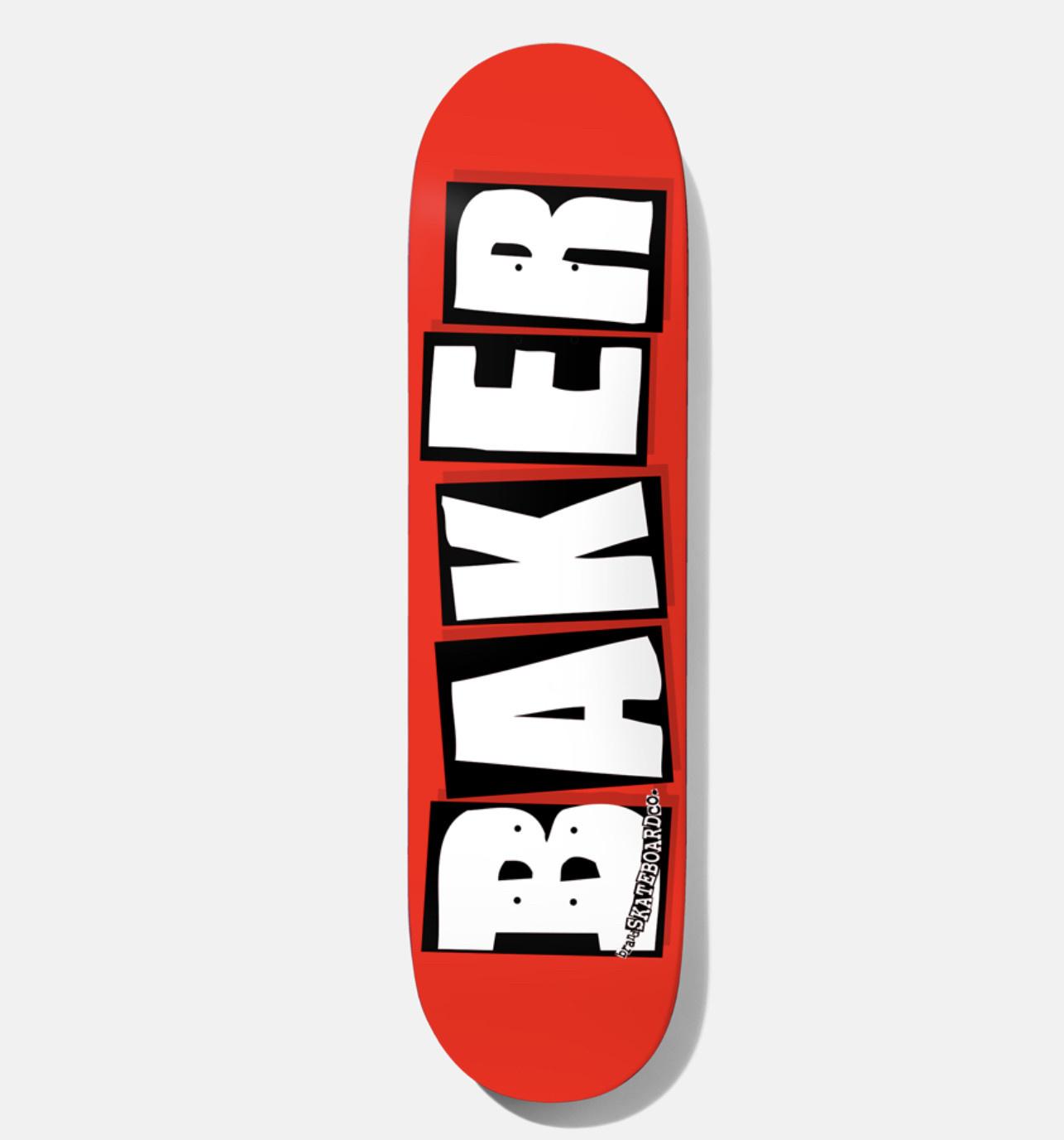 Baker Baker - 8.25 Brand Logo Red/White