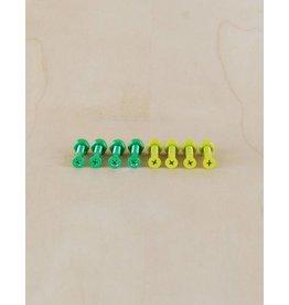 """Shake Junt Shake Junt - 1"""" Phillips Hardware Green/Yellow"""