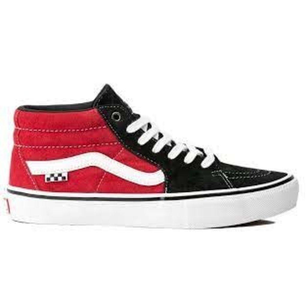 Vans Vans - Skate Grosso Mid Black Red