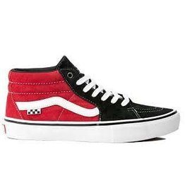 Vans Vans - Skate Grosso Mid Black Red