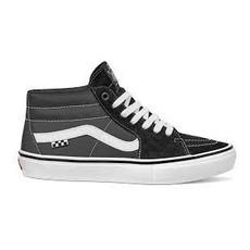 Vans Vans - Skate Grosso Mid Black White