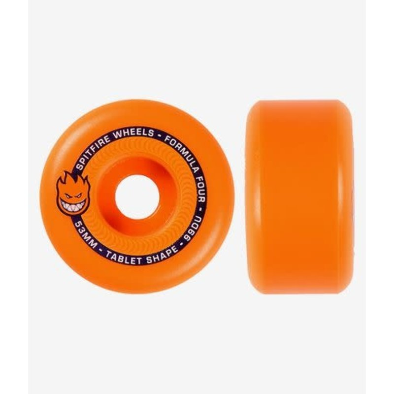 Spitfire Spitfire - F4 99 Tablet Neon Orange