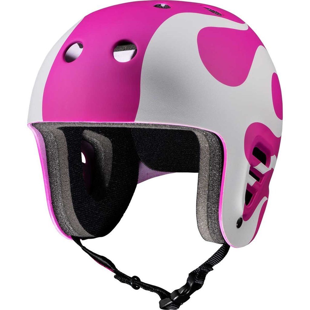 Protec Protec - Fullcut Gonz Flame Pink White Helmet