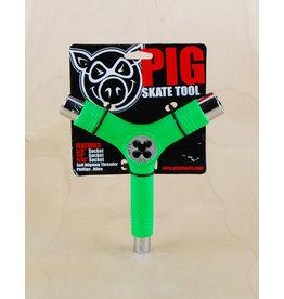 Pig Pig - Tri Socket Tool Neon Green