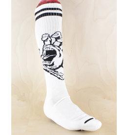Santa Cruz Santa Cruz - Hand Tall Socks White