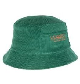 Krooked Krooked - Bucket Hat Eyes Green Red