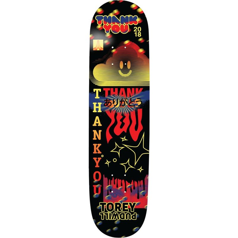 Thank You Thank You - 8.25 Pudwill Fly Deck