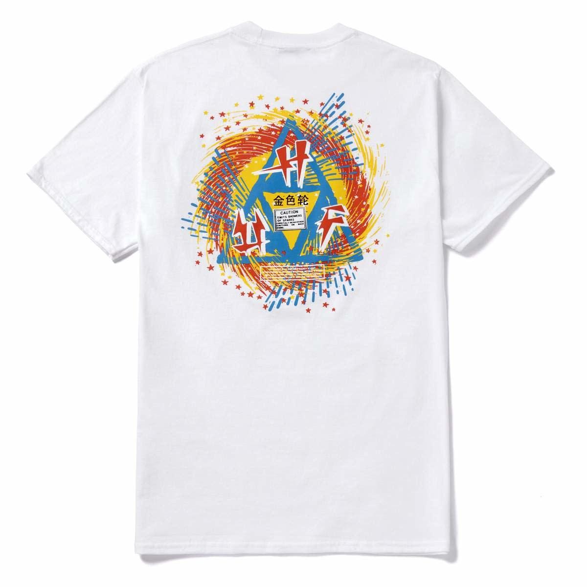 Huf Huf - Flashing Wheel White