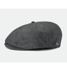 Brixton Brixton - Brood Snap Cap Grey Black