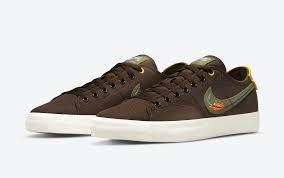 Nike Nike - SB Blazer Court DVDL Brown
