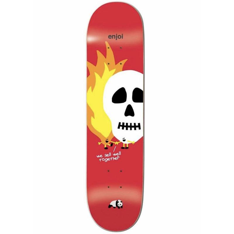 Enjoi Enjoi - 8.25 Skull and Flames HYB