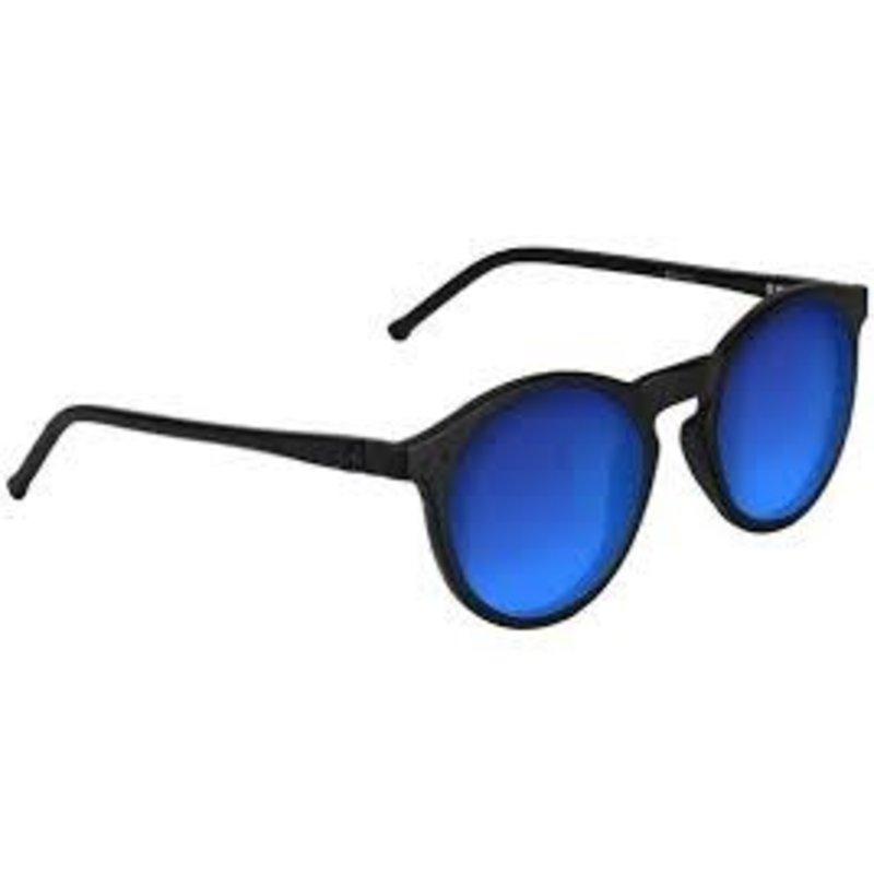 Glassy Glassy - Apollo Premium Polarized Matte Blackout Blue Mirror
