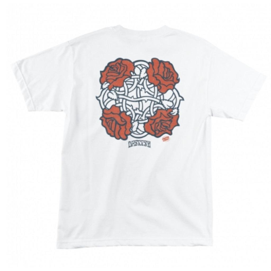 Santa Cruz Santa Cruz - Dressen Rose Club White