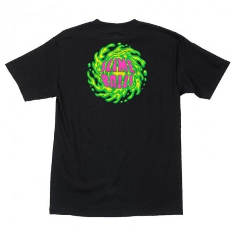 Slime Balls Slime Balls - SB Logo S/S Regular T-Shirt Black