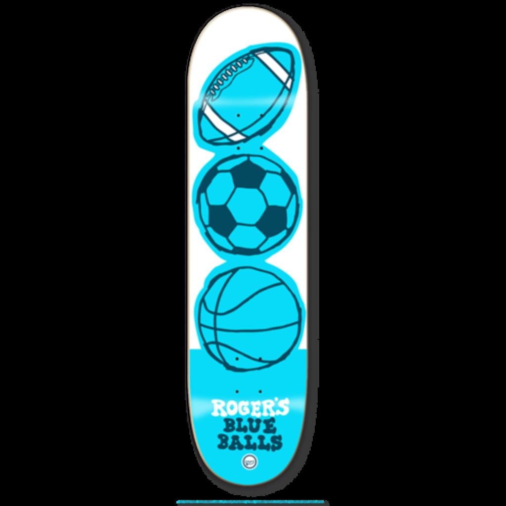 Roger Skate Co. Roger -8.12 Blue Balls