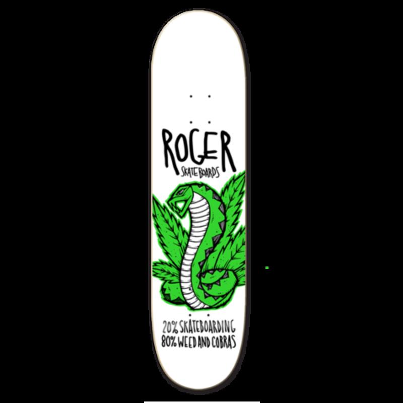 Roger Skate Co. Roger - 8.5 Weed and Cobras