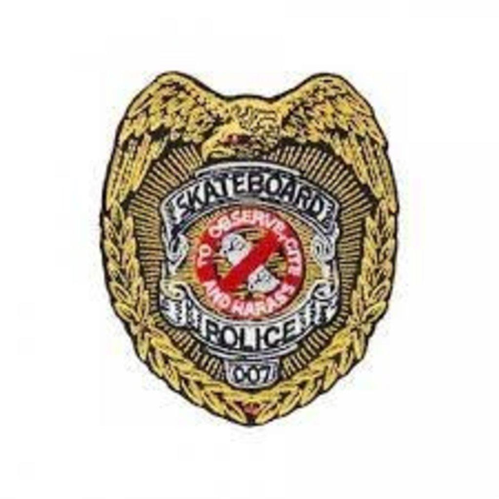 Powell Peralta Powell - Skateboard Police 3.5 Patch