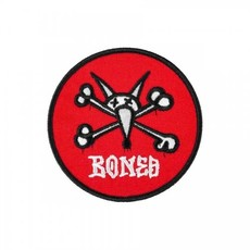 Powell Peralta Powell - Vato Rat Patch 2.5 RED