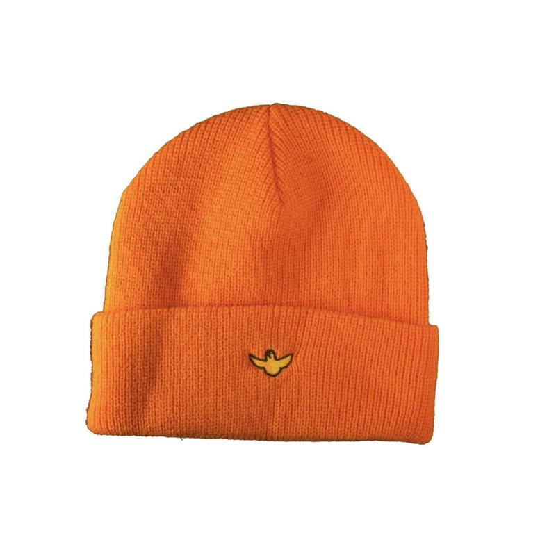 Krooked Krooked - OG Bird Beanie Cuff Orange