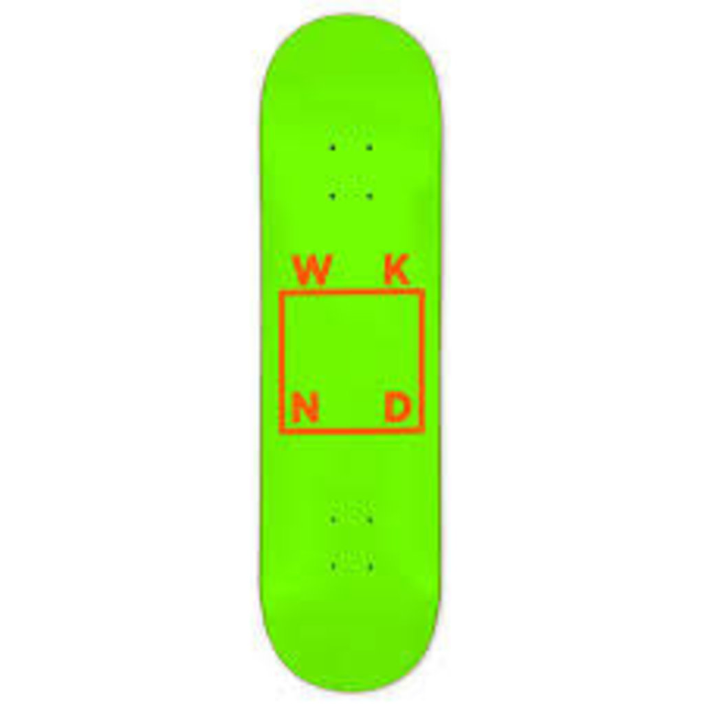 WKND - 8.25 LOGO Green Orange